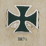 BR74 150x150 Crosshairs Cross Ring