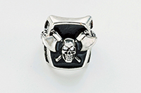 Axe to Grind Skull Ring