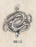 br142 Coiled Viper Ring