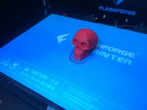 3D Printed Skull 300x225 3D Printing Larger Pieces With Good Detail